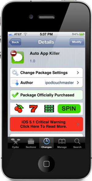 how to download the cydia app