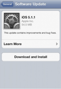 Download iOS 5.1.1 Apple
