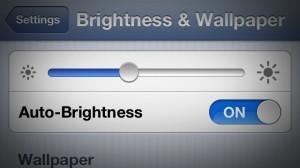 AutoBrightness Cydia tweak